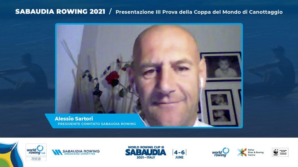Alessio Sartori(Ass.Sport Comune Sabaudia)